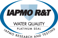 LifeSource Water is tested and certified by The International Association of Plumbing and Mechanical Officials (IAPMO)